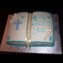 God Bless Bible Cake